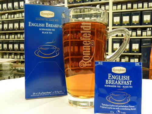 English Breakfast  Teavelopes  Ronnefeldt