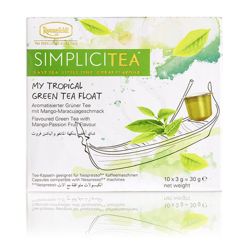 Simplicity My Tropical Green Tea Ronnefeldt