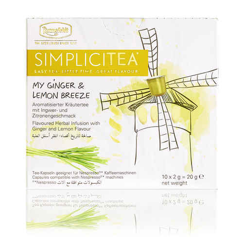 Simplicitea My Ginger & Lemon Ronnefeldt