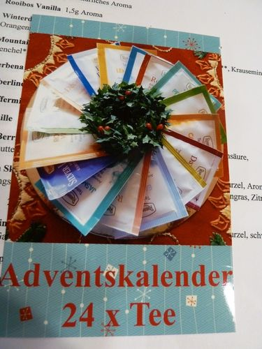 Adventskalender Teavelopes Ronnefeldt